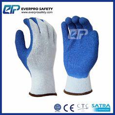 10G T/C Yarn 5 Thread 21S Latex Dipping Work Gloves