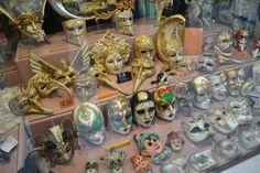 Venice, Italy - Venetian masks Venetian Masks, Venice Italy