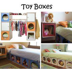 Toy boxes on Pinterest | Toy Storage Boxes, Storage Ideas ...
