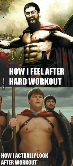 I go to gym to loose weight...