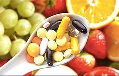Alimentação pode substituir uso de suplementos.
