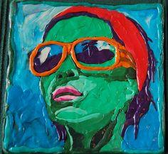 plasticine woman