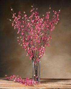 Cherry Blossom Silk Flower Stem BEAUTY