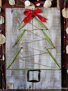 Cómo hacer un árbol de Navidad fácil                              …