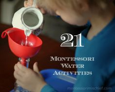21 Montessori Water Activities For Your Practical Life Shelf