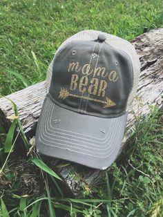 Items similar to Mama Bear Trucker Hat 783900179a4d