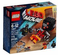 Lego Movie 70817 Batman & Super Angry Kitty Attack Set New/Sealed!! 115pcs ~VHTF #LEGO