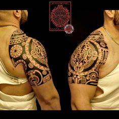 tatouage polynesien-polynesian tattoo