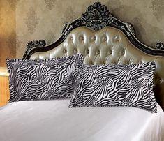 Best Sale Double mulberry silk Pillow Case Pillowcase Camel White BLack Pillow Cover Standard 48X74cm Celadon flower