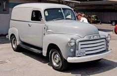1950 GMC Gm Trucks, Chevy Trucks, Classic Trucks, Classic Cars, Gmc Vans, Day Van, Gmc Pickup, Panel Truck, Truck Camping
