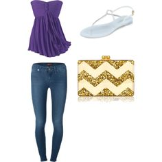 going out by volleyballplayer2015-16 on Polyvore featuring polyvore fashion style L.K.Bennett Edie Parker