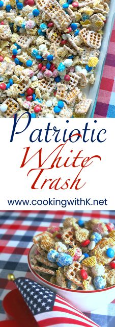 Cooking with K: Patriotic White Trash