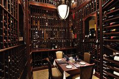 Now this is a wine cellar!