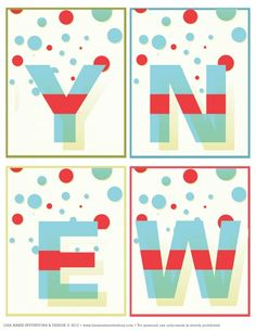 free happy new year banner new year printables party printables happy new year banner