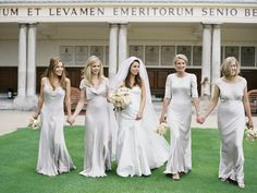 Bridesmaids dresses: Ghost - London Wedding from Polly Alexandre