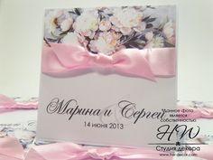 Printed wedding invitations with peony flowers. Пригласительные на свадьбу с пионами. Цифровая печать Белая Церковь, Киев.