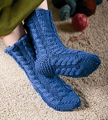 Ravelry: Cabled Cottage Cozies pattern by Mary C. One Color, Colour, Yarn Colors, Knitting Designs, Cozies, Hand Knitting, Ravelry, My Design, Slippers
