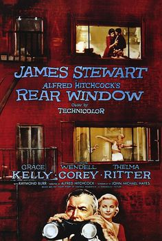 'Rear Window': Page, Film, and Stage — The stuff that dreams are made of