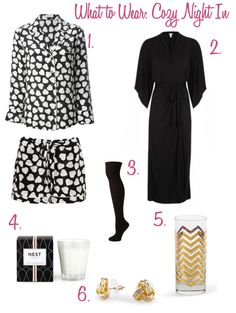"""What To Wear for Valentine's Day """"What to wear for Cozy Night IN"""""""