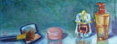 Féminine 02 - huile sur toile - format 50x20 cm