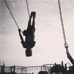 At the playground, ya know?