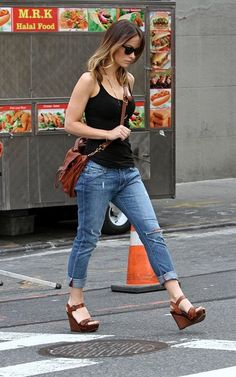 Olivia Wilde does casual