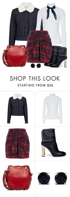 """""""Untitled #1518"""" by gallant81 ❤ liked on Polyvore featuring Paul & Joe Sister, Derek Lam, River Island, Alexander McQueen, Karl Lagerfeld and Malaika"""