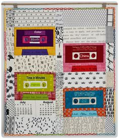 "OMG!  This modern mini quilt is fantastic!!  from ""Sewing Under the Rainbow"" http://jednoiglec.blogspot.com/2012/03/my-entry-to-modern-mini-challenge.html"