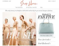 Design And Sell Clothes Online Shop Hers An online luxury