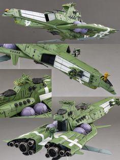1/1700 Fleetmo Scratchbuild Series (UC 0096) Neo Zeon Fleet - Custom Build     Modeled by fleetmo