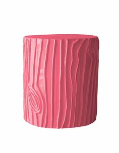 Stump Accent Table or Stool...comes in white or fun colours like pink and turquoise