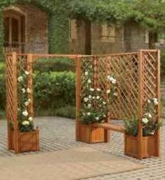 trellis gardening for small spaces or vertical gardening can also be used indoors!