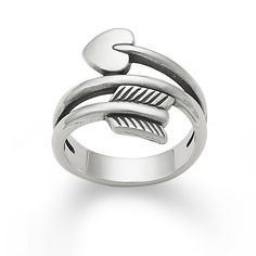 Arrow & Heart Ring from James Avery Jewelry #HeartRing