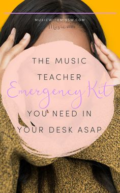 Learn Piano On Your Own This post was a life saver over and over. Here's what you need to fill up your own kit… Music Classroom, Classroom Ideas, Music Teachers, Classroom Inspiration, Future Classroom, Classroom Organization, Music Games, Teacher Emergency Kit, Emergency Kits