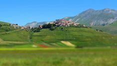 italy, Umbria, Norcia- Castelluccio