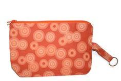 Hipster Mini Purse Cotton Orange Asian by cozylittlecorner on Etsy, $11.00
