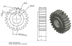 Gear Drawing, Orthographic Drawing, Bathroom Towel Decor, 3d Drawings, Mechanical Design, Technical Drawing, Inventions, Gears, Symbols