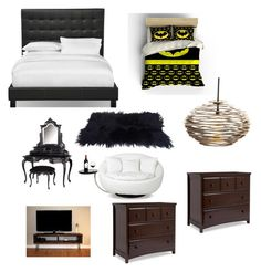 """Dream bedroom"" by grace-hobson on Polyvore featuring interior, interiors, interior design, home, home decor, interior decorating, Arteriors and bedroom"