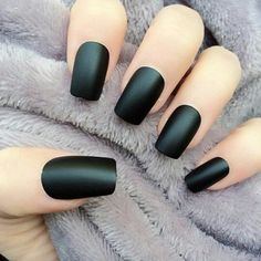 style, manicure, look, happycolor, nails on We Heart It Pretty Nail Art, Beautiful Nail Art, Cool Nail Art, Different Nail Designs, Best Nail Art Designs, Mat Black Nails, Nail Black, Manicure, Polygel Nails