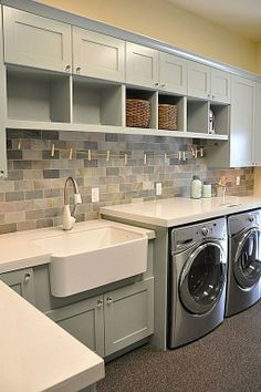 Awesome laundry room..