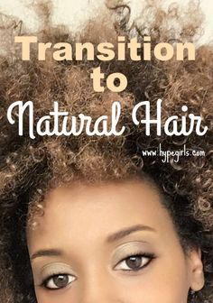 Transitioning to natural hair video How to make the transition to natural hair? Video delves more into the many different natural hair transitioning methods. Permed Hairstyles, Diy Hairstyles, Natural Hair Transitioning, Natural Styles, Natural Hair Care, Black Hair, Curly Hair Styles, Skin Care, Step Guide