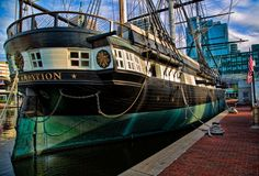 If you haven't paid her a visit, you really should! USS Constellation, Baltimore, Maryland. http://www.hauntedhouses.com/states/md/uss_constellation.htm