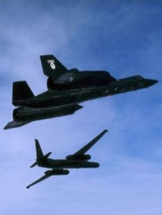 U-2 and SR-71 Blackbird
