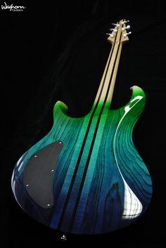 baritone sg style electric guitar 27 scale mahogany body worn black finish custom inlay. Black Bedroom Furniture Sets. Home Design Ideas