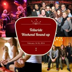 The weekend is ALMOST here. What will you be doing? Check-out our Telluride Weekend Round-up for a list of events happening February 14-16th. #telluride #events #livemusic #leftoversalmon #telluridecomedyfestival #telluridewinter #winterevents