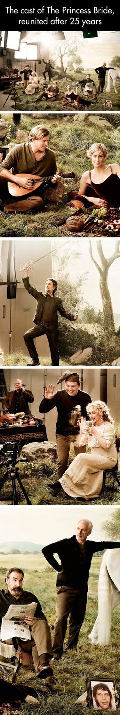 Funny pictures about The Princess Bride Cast Reunited. Oh, and cool pics about The Princess Bride Cast Reunited. Also, The Princess Bride Cast Reunited photos. Movies And Series, Movies And Tv Shows, The Princess Bride, Princess Bride Quotes, O Hobbit, Hollywood, Look At You, Great Movies, Awesome Movies