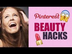 Pinterest BEAUTY Hacks im Live Test mit Sara Isabel | Selbstbräuner aus Kakao - YouTube