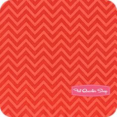 The Sweetest Thing Red Chevron Yardage SKU# C2985-RED