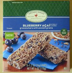 What's Good at Archer Farms?: Archer Farms Blueberry Açaí Granola Bars