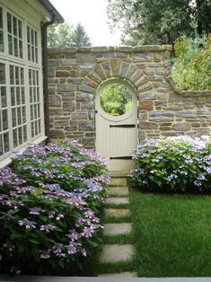 32 Swoon Worthy Garden Gate Ideas 32 Swoon Worthy Garden Gate Ideas Browse These Photos Of Gorgeous Garden Gates From Diynetwork Com Stacked Stone Whimsy Pretty Flowering Bushes Wallace Landscaping Associates Backyard Garden Design, Backyard Landscaping, Landscaping Ideas, Garden Design Ideas On A Budget, Landscaping Around House, Landscaping Melbourne, Yard Design, Backyard Ideas, Garden Structures